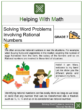 Solving Word Problems Involving Rational Numbers 7th Grade Math Worksheets