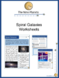 Spiral Galaxies Worksheets