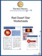 Red Dwarf Star Worksheet