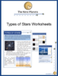Types of Stars Worksheets