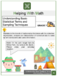 Understanding Basic Statistical Terms and Sampling Techniques 7th Grade Math Worksheets