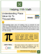 Understanding Place Value Up to Thousandths 5th Grade Math Worksheets