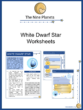 White Dwarf Star Worksheet