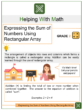 Expressing the Sum of Numbers Using Rectangular Array 2nd Grade Math Worksheets
