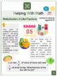 Multiplication of Like Fractions (Cinco de Mayo Themed) Worksheets