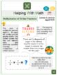 Multiplication of Unlike Fractions (Thanksgiving Themed) Worksheets