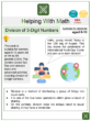 Division of 3-Digit Numbers (International Youth Day Themed) Worksheets
