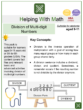 Division of Multi-digit Numbers (World Health Day Themed) Worksheets