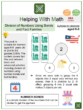 Division of Numbers Using Number Bonds and Fact Families (4th of July Themed) Worksheets