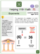 Exponents (Museum Themed) Worksheets