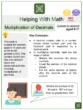 Multiplication of Decimals (World Teachers' Day Themed) Worksheets
