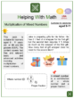 Multiplication of Mixed Numbers (Father's Day Themed) Worksheets