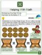 Multiplying One-Digit Whole Numbers by Multiples of 10 3rd Grade Math Worksheets
