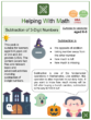 Subtraction of 3-Digit Numbers (Halloween themed) Worksheets