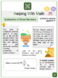 Subtraction of Mixed Numbers (Farm Themed) Worksheets
