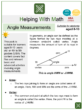Angle Measurements (Cruise Ship Themed) Worksheets