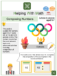 Composing Numbers (Olympics Themed) Worksheets
