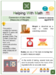 Conversion of Like Units (Measures of Weight) (Baking Themed) Math Worksheets