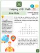 Line Plots (Logistics Themed) Worksheets