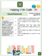 Quadrilaterals (Real Estate Themed) Math Worksheets