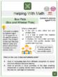 Box Plots (Box and Whisker Plots) (Construction Themed) Math Worksheets