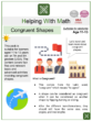Congruent Shapes (World Tourism Day) Themed Math Worksheets