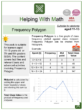 Frequency Polygon (School Themed) Math Worksheets