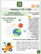 Geometry and Measurement Problem Solving (World Space Week Themed) Math Worksheets