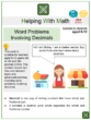 Word Problems Involving Decimals (Market Themed) Math Worksheets