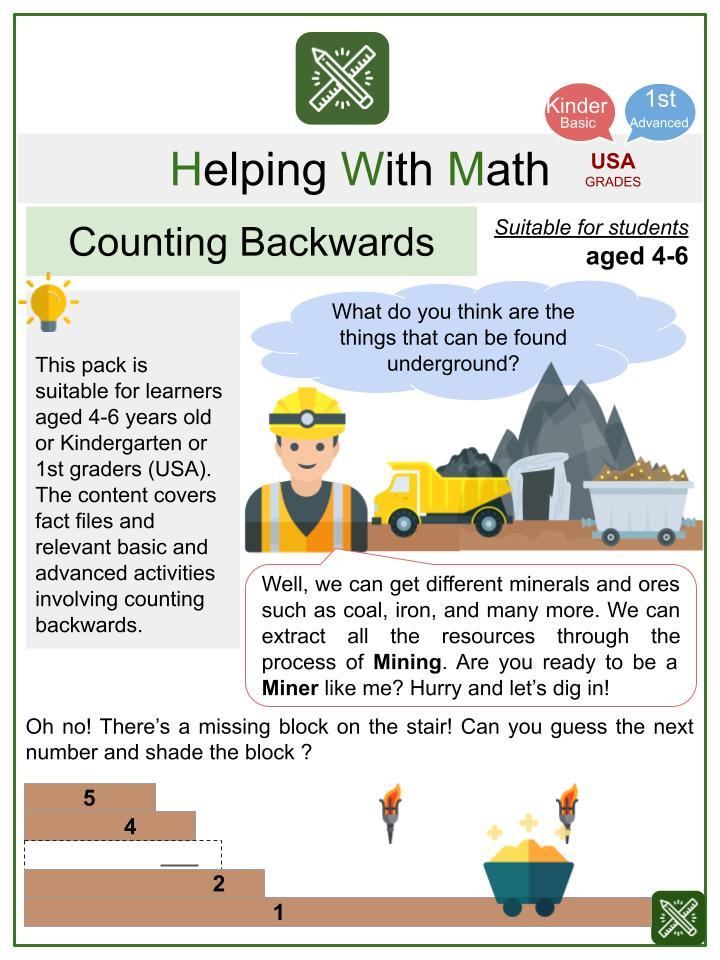 Right Angles (Safari Themed) Math Worksheets